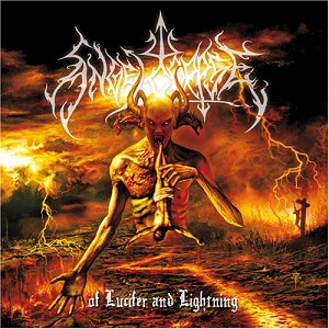 "Angelcorpse ""Of Lucifer and Lightning"" CD"