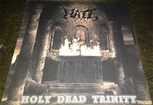 "Hate ""Holy Dead Trinity"" 2 Sided Glossy Poster 12""x12"""