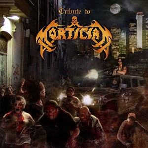 Tribute To Mortician CD