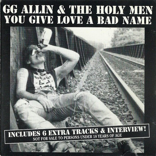 GG Allin and The Holy Men