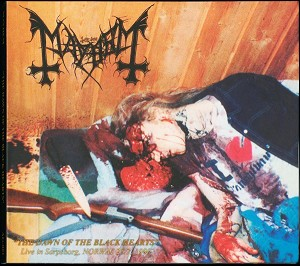 Mayhem 'The Dawn Of The Black Hearts - Live in Sarosborg, Norway 28/2 1990' DIGI CD