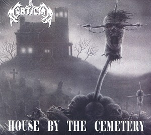 Mortician 'House By The Cemetery' DIGI CD